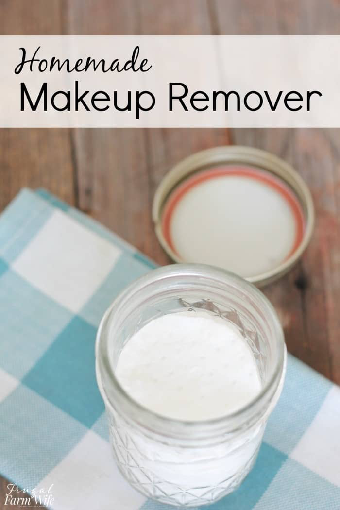 Homemade Makeup Remover Wipes Recipe in 2020 Homemade