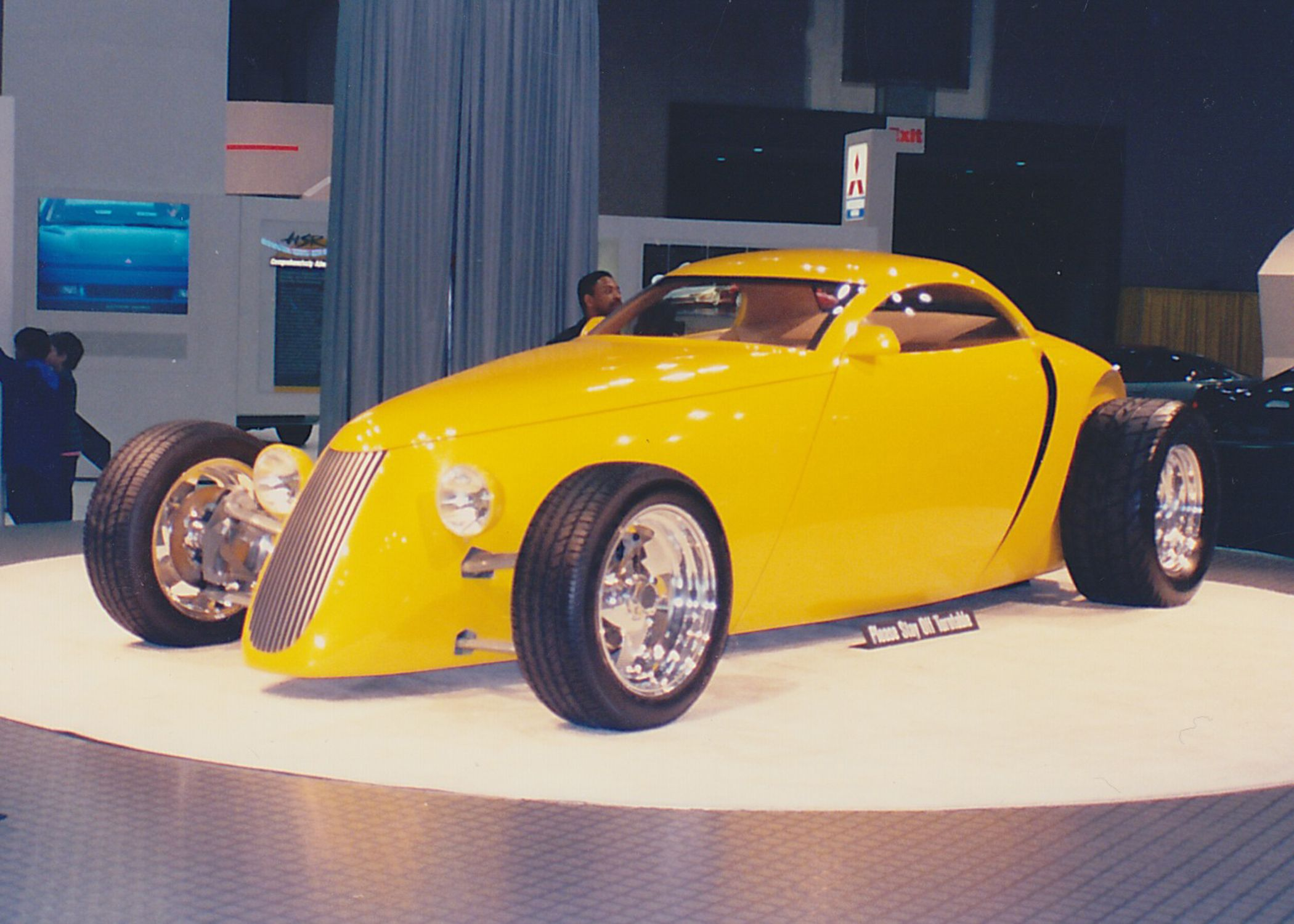 The Aluma Coupe premiere at the New York Autoshow, on the