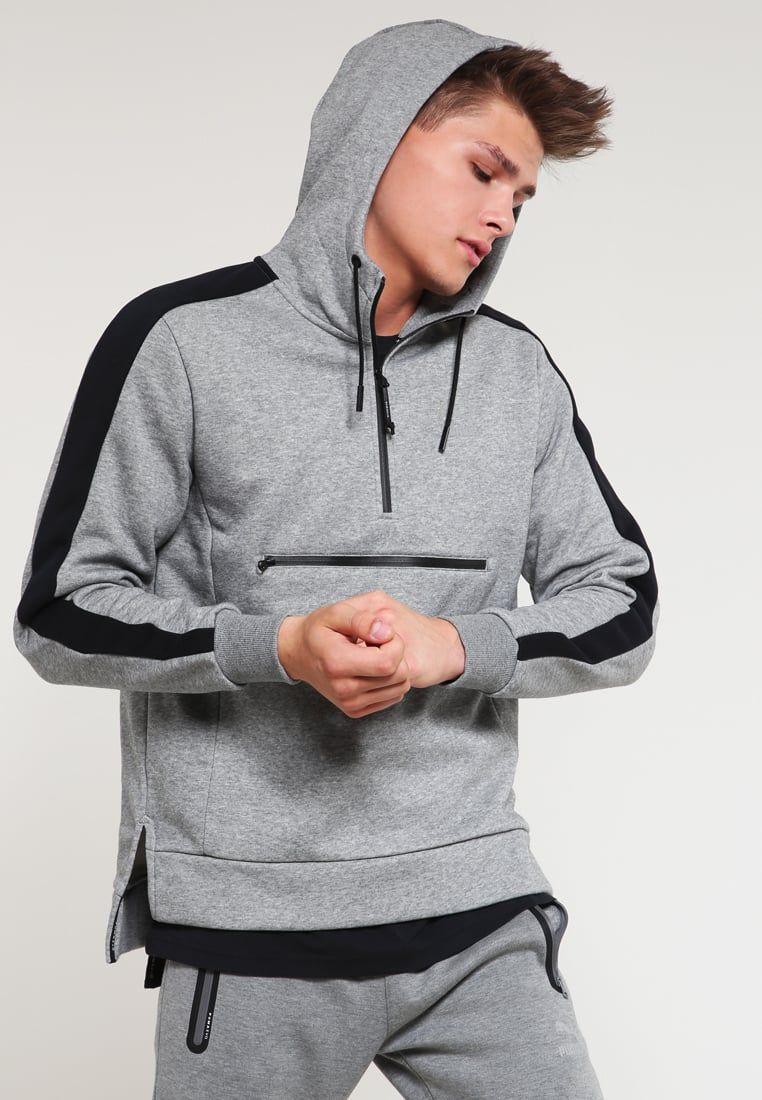 EVO SAVANNAH - Sudadera - medium gray heather - Zalando.es. EvoSport  FashionMan StylePumasSportswearHoodiesSweatshirtMen's ...