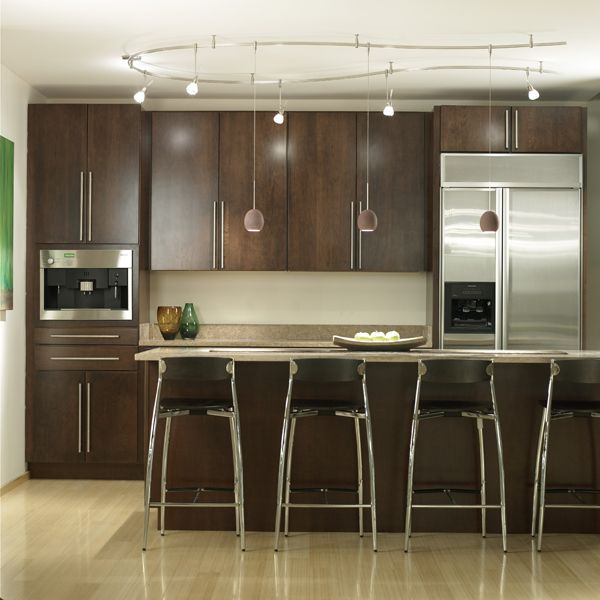 Wonderful Kitchen Track Lighting Ideas: I Personally Love The Look Of Track Lighting However, It