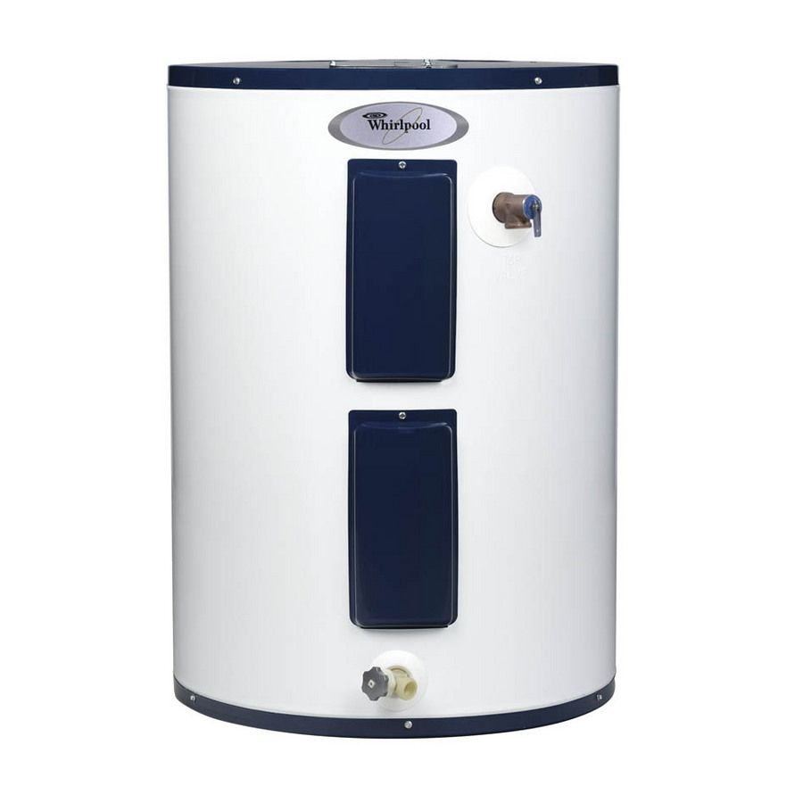 Whirlpool 38 Gallon 6 Year Lowboy Electric Water Heater Electric Water Heater Hot Water Heater Water Heater