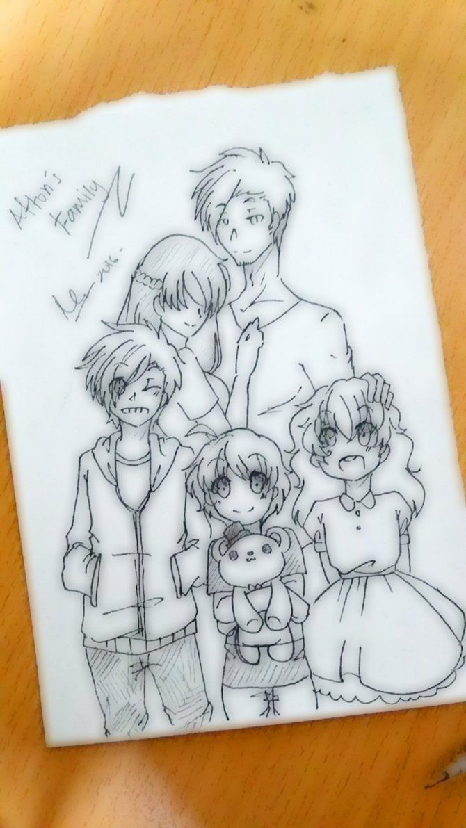Afton's Family...what were used to be.. by karinchan97