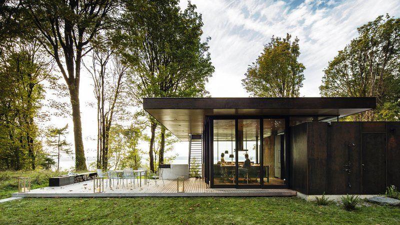 Dreamy Modern Cabin Home Glass Cabin Cabin Design Architecture