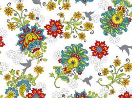 Gypsy Garden Floral by Quilting Treasures by Patchance45 on Etsy, $9.79