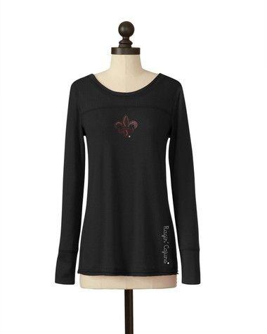 Louisiana-Lafayette Ragin' Cajuns | Rib Panel Sweater | meesh & mia
