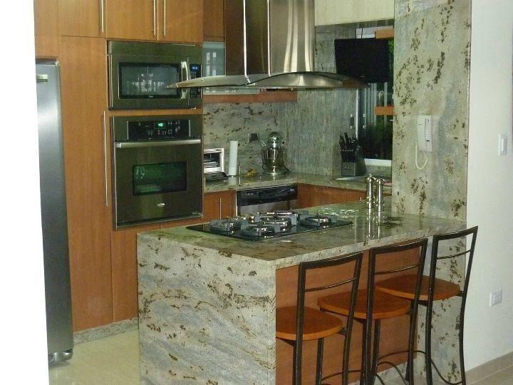 Cocina peque a con isla casa perros pinterest cocina - Islas cocinas pequenas ...