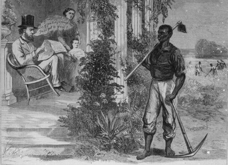 During Reconstruction The 13th Amendment Abolished Slavery However
