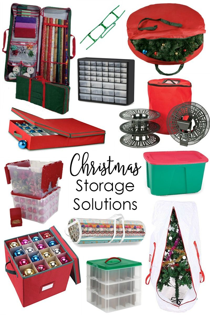 Lovely Holiday Decoration Storage Ideas Part - 3: Smart Christmas Decoration Storage Ideas