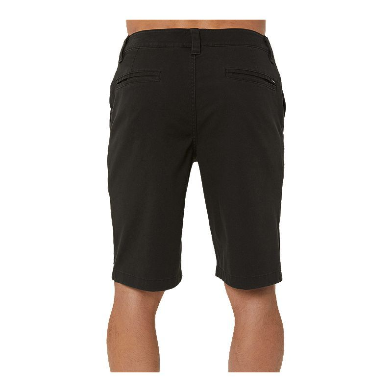 Black O/'Neill Contact Stretch Walk Shorts New