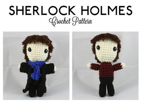 Sherlock Holmes Doll (from BBC\'s Sherlock) ~ Free Amigurumi Pattern ...
