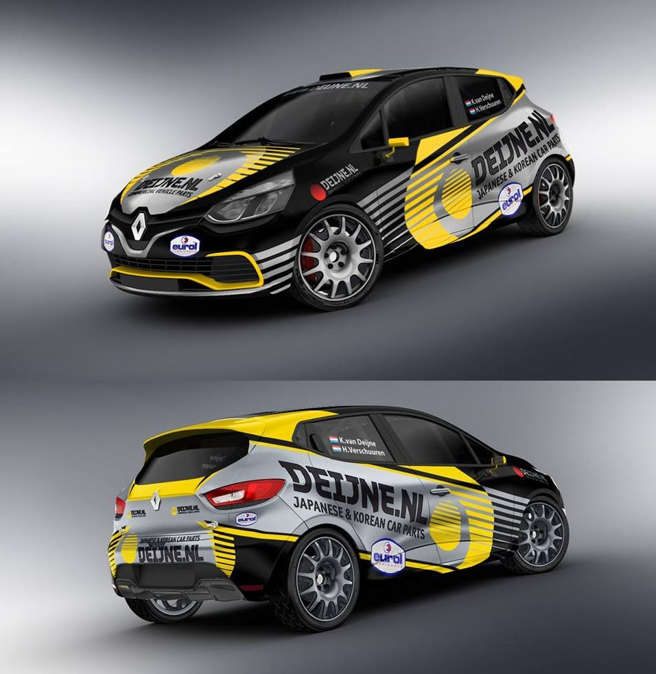 Renault Clio Racing Livery We Collect And Generate Ideas Ufxdk - Racing car decals designpng race car wraps pinterest cars