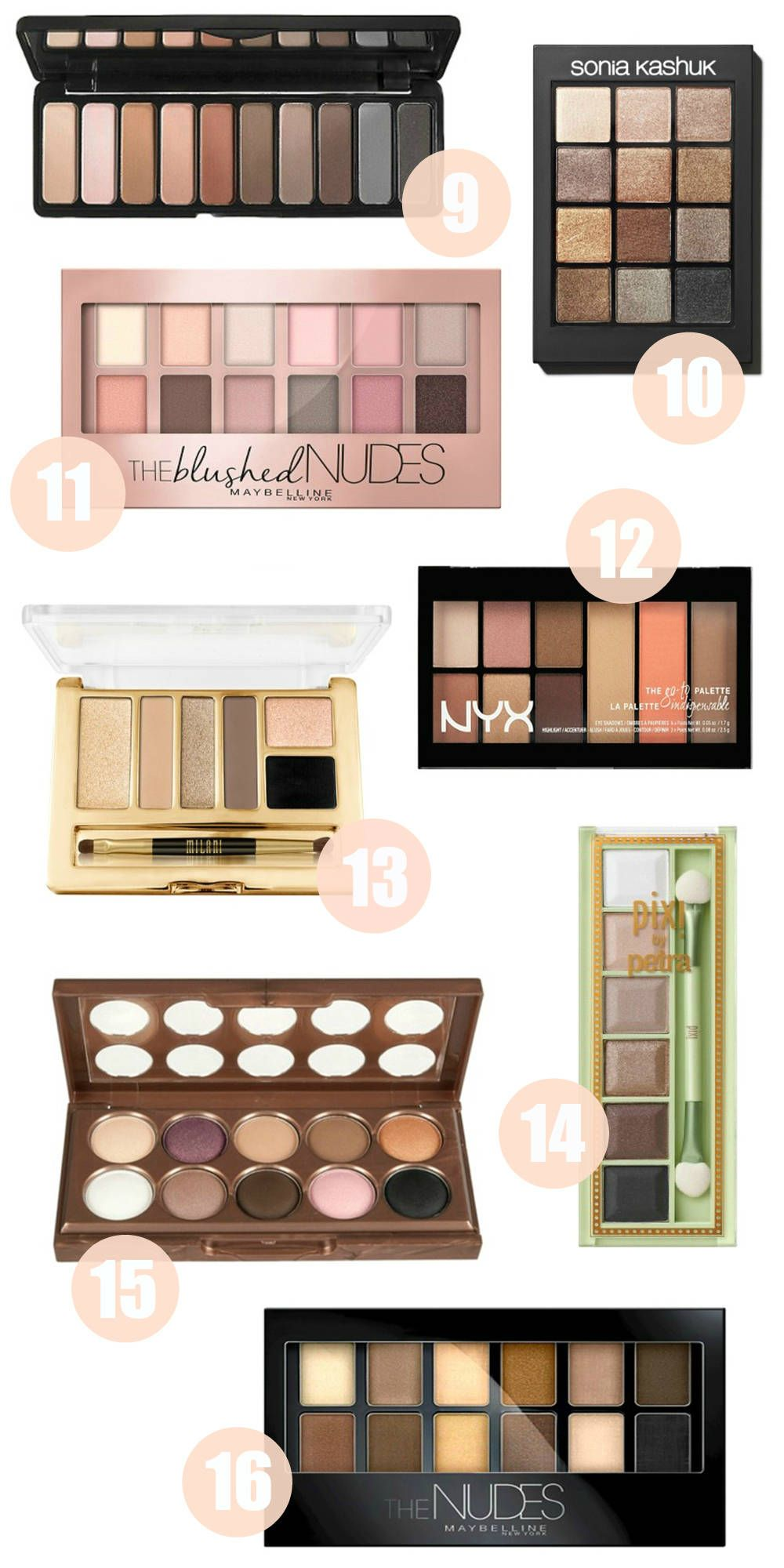 The Best Drugstore Eyeshadow Palette Under 20 Mash Elle Drugstore Eyeshadow Best Drugstore Eyeshadow Drugstore Eyeshadow Palette