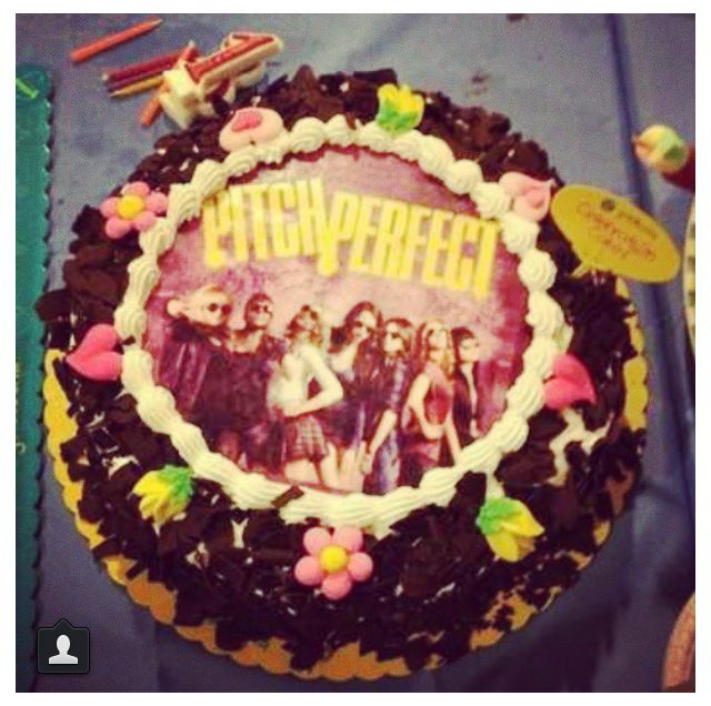 Gabby Has Already Requested A Pitch Perfect Cake For Her 13th Birthday Since 2 Is Due To Come Out Around