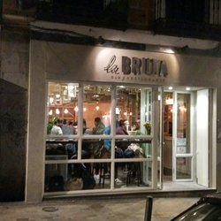 La bruta, local en Madrid, diseño de Carlos Ferrer, Madeplus Europa, SL