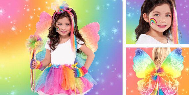 4a85cef064 Rainbow Fairy Accessories - Party City   Halloween   Fairy costume ...