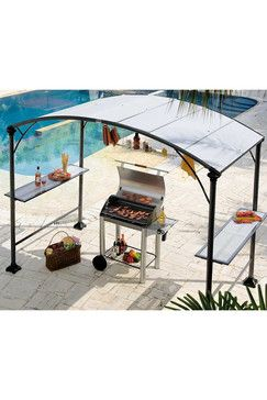 tonnelle abri barbecue en acier jardinage en 2019 pinterest barbecue bbq et outdoor. Black Bedroom Furniture Sets. Home Design Ideas