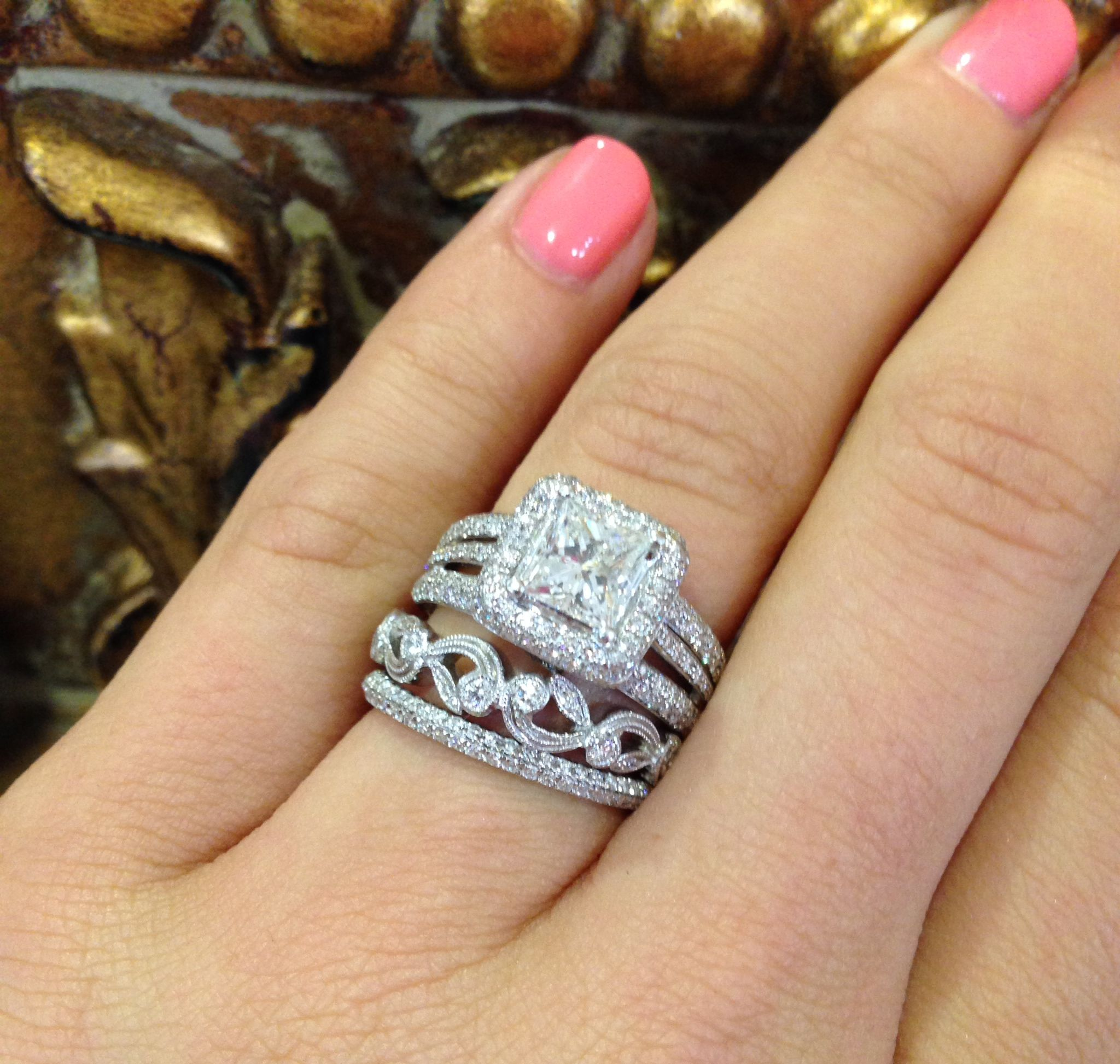 stacking wedding bands available for purchase at sissy s log cabin
