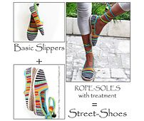 E-Book 2in1 Package for ADULT Happy Scrap Shoes Basic Pattern + Cord-Sole Tutorial + Sole-Treatment
