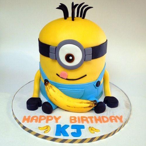 minion birthday cakes girl Google Search birthday Pinterest