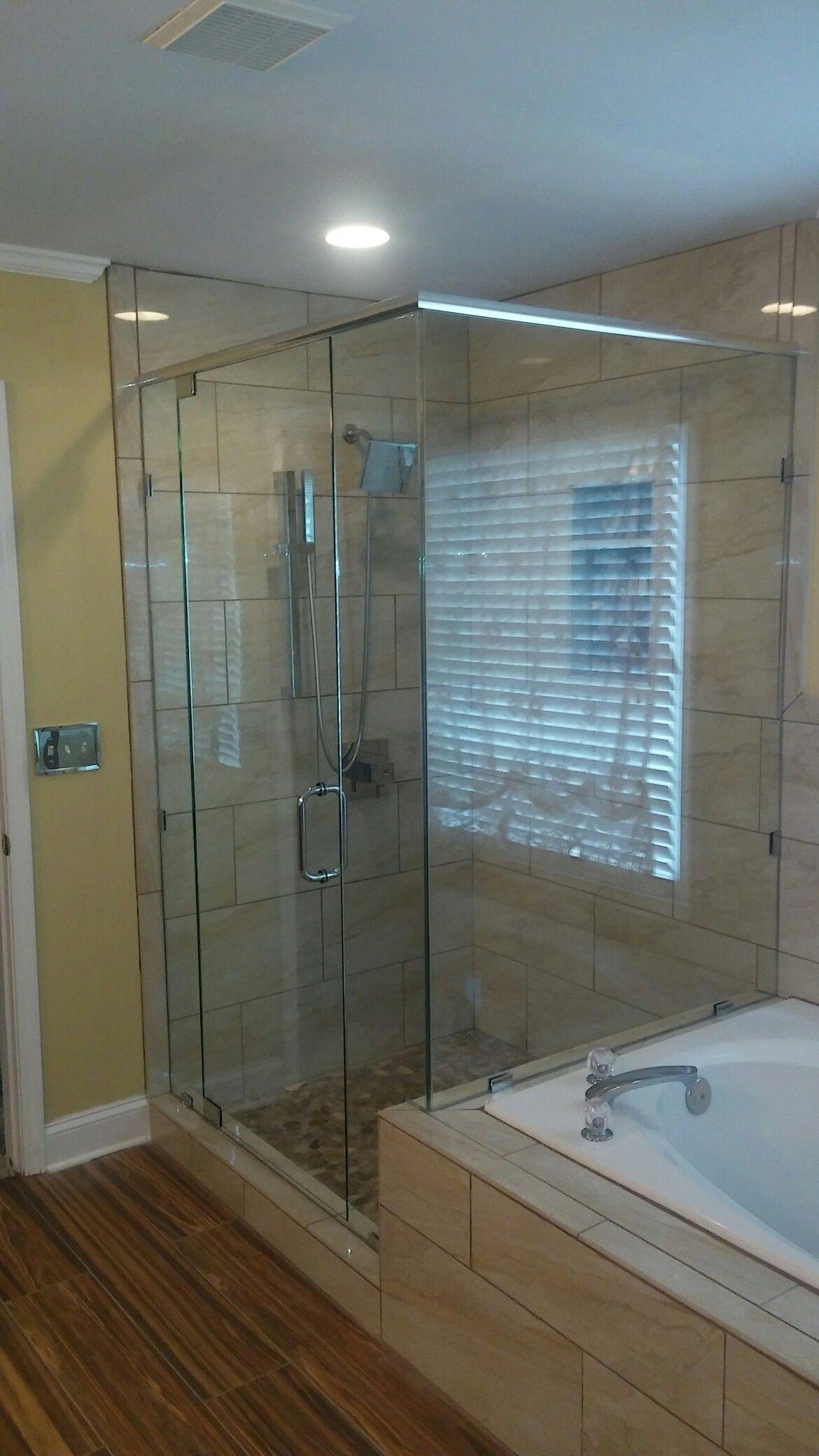90 Frameless Shower Door With Header In Duluth Ga Get Your Free