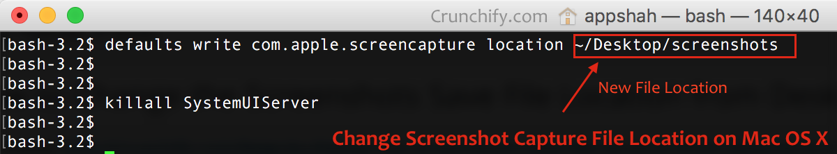 How to Change the Screenshots Save File Location from