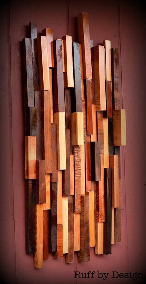 Wall art set of two abstract wood sculpture home decor hanging on etsy stuff  need pinterest sets also rh