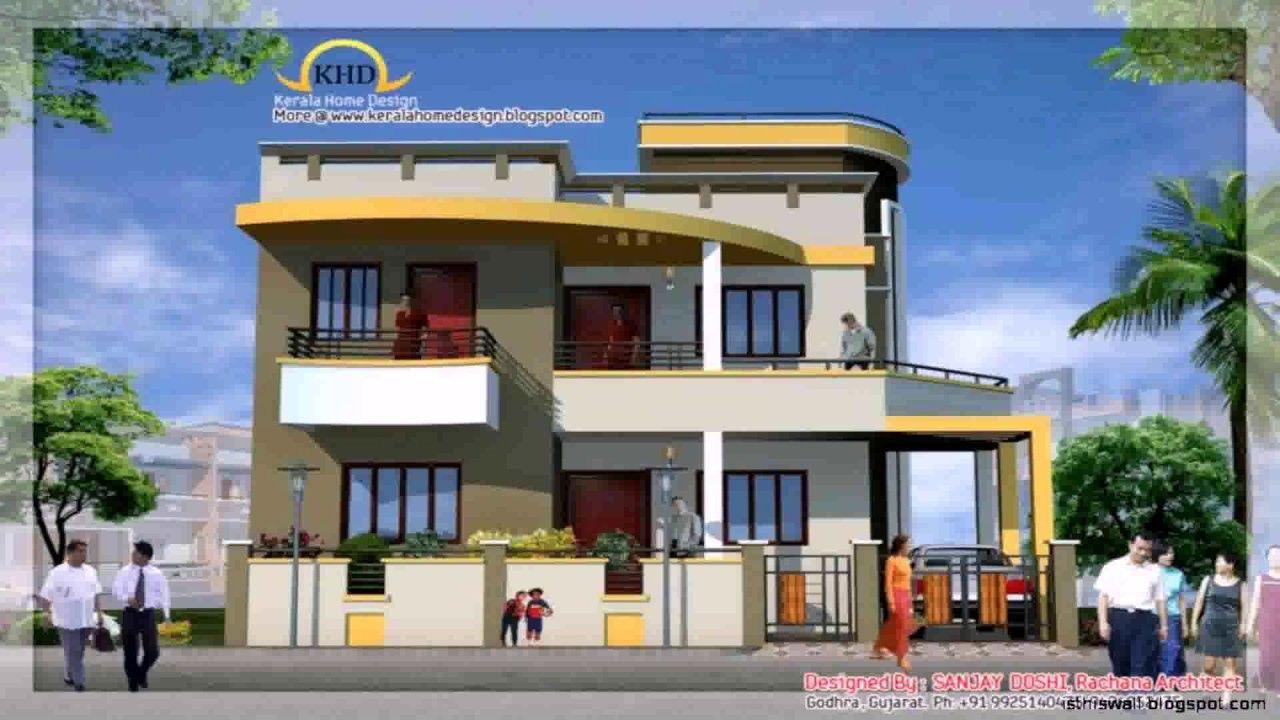 Amazing House Front Elevation Design Software Youtube Throughout Front Elevation Design  House Front Elevation Design For Double