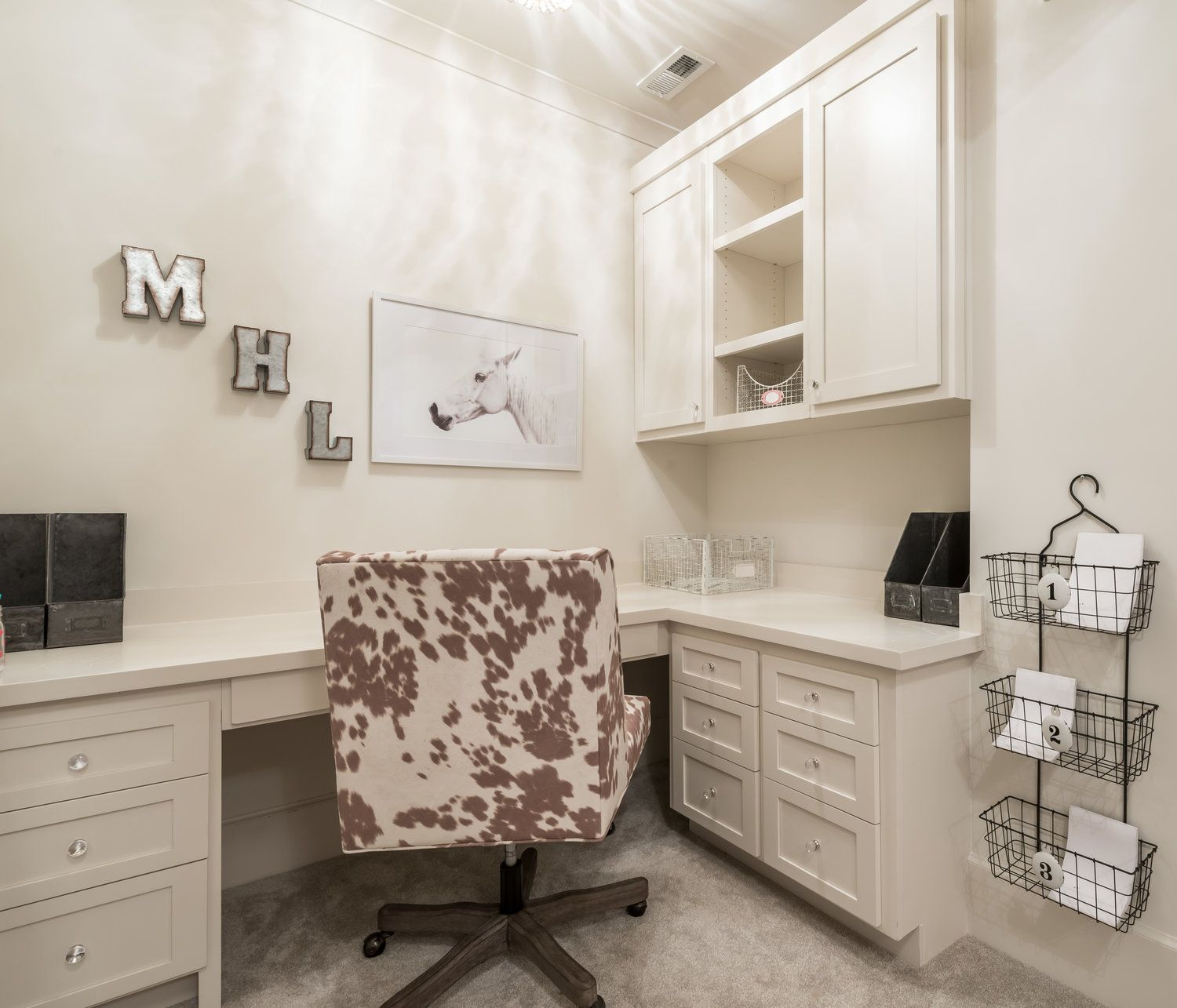 Home Office Design, Furniture Layout