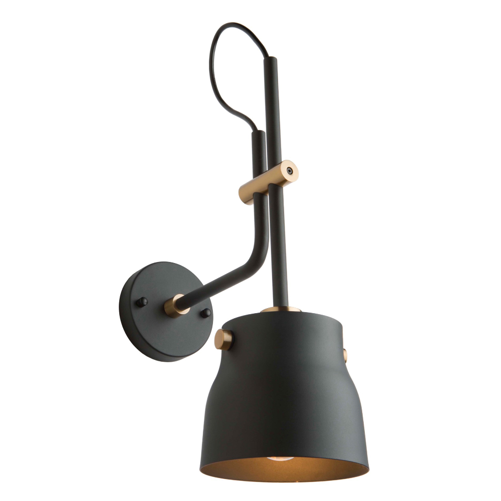 Euro Industrial Wall Sconce By Artcraft Ac11367vb In 2020 Industrial Wall Sconce Industrial Wall Lamp Industrial Wall