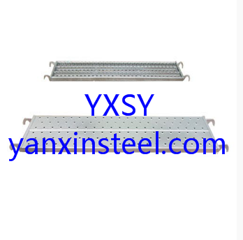 Scaffold Steel Plank for sale YXSY supply the high quality