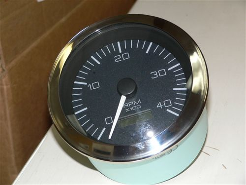 tach 12 volt sea ray replacement gauge tachometer 5 Boat Instrument Panel Wiring Diagrams