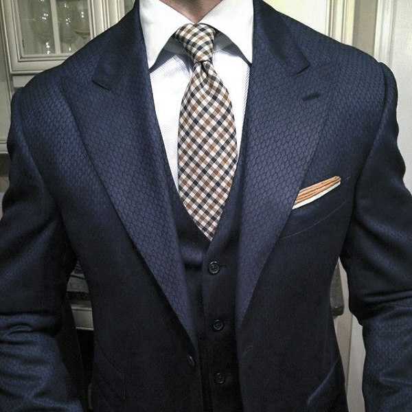 90 Navy Blue Suit Styles For Men - Dapper Male Fashion Ideas