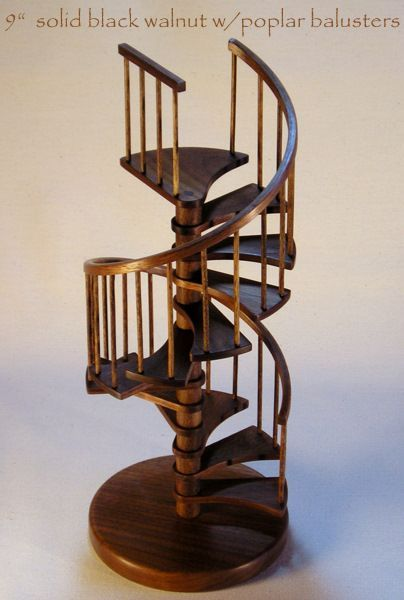 Best 1 12Th Scale Miniature Spiral Staircase You Can Buy Kit On 400 x 300
