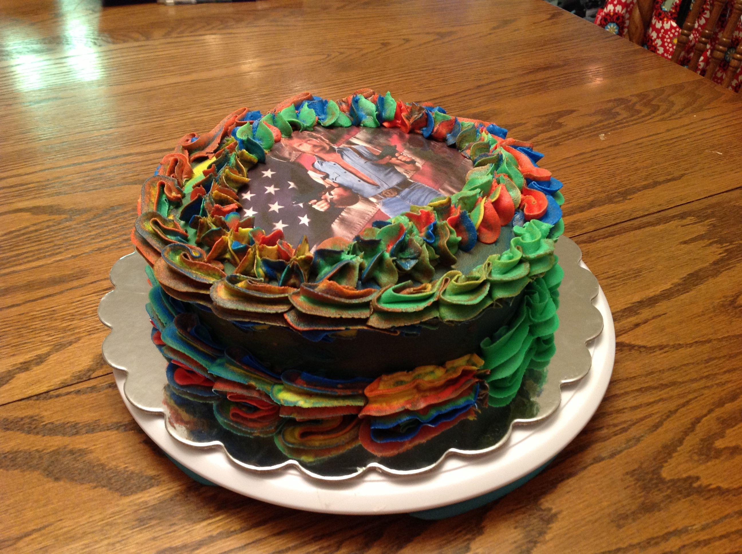 Admirable Chuck Norris Cake Cake Desserts Bakery Personalised Birthday Cards Sponlily Jamesorg
