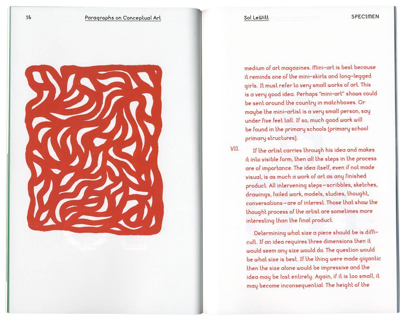 LeWitt Typeface - Jared Bell / Graphic Design