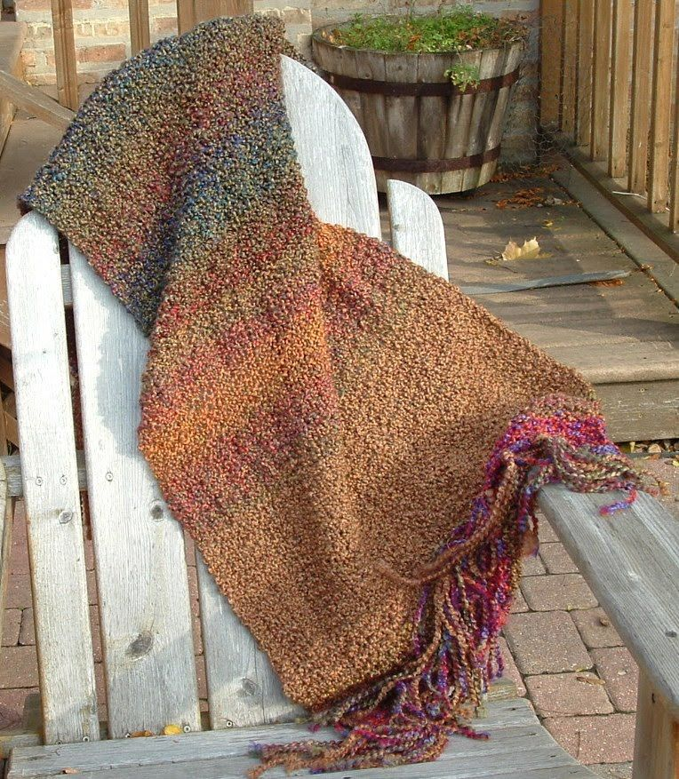 A Special Kind Of Prayer Shawl Knit In Church So Its Filled With