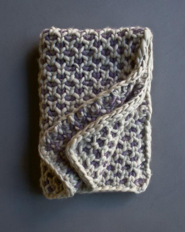 Beautyberry Blanket | Purl Soho | Knit | Pinterest | Berry, Stricken ...
