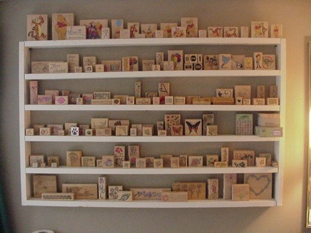 Charmant Crafty · Rubber Stamp Storage ...