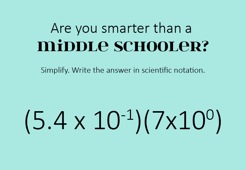 How much of pre-algebra do you remember? Try this fun math problem ...