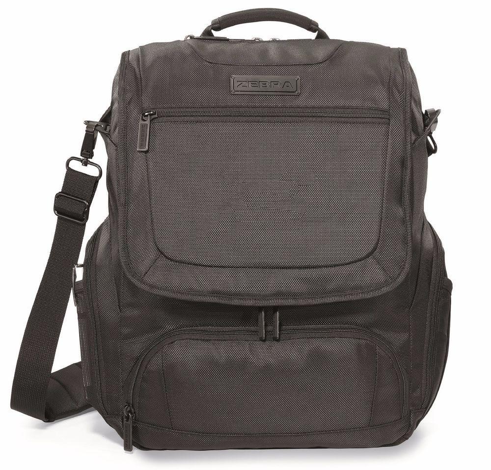 Zebra Convertible 15 Laptop Macbook Pro Rugged Vertical Messenger Bag New Verticalmessengerbag