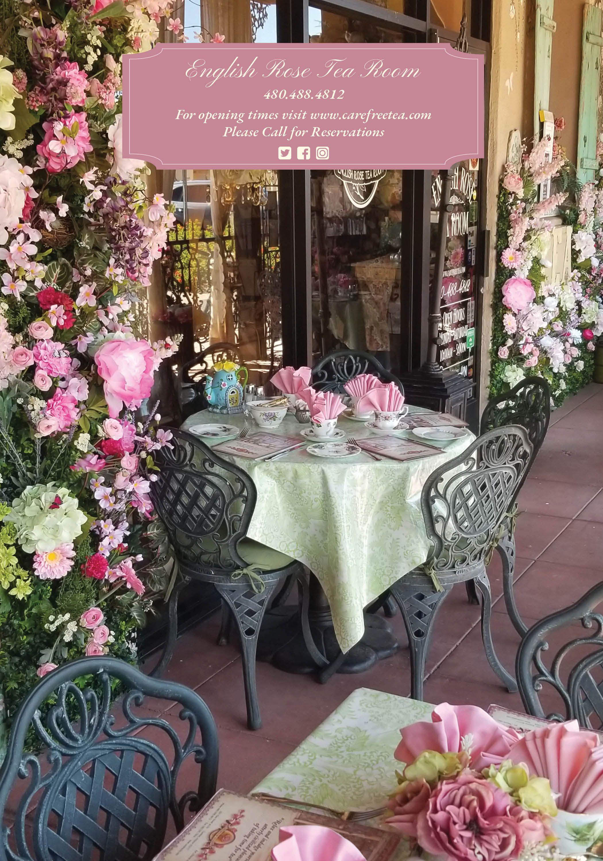 menu English Rose Tea Room (With images) Rose tea, Tea