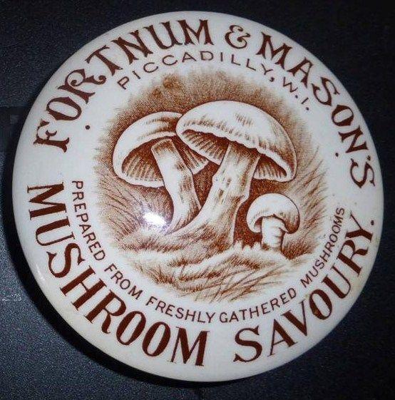 Fortnum & Mason Mushroom Savoury Pot Lid