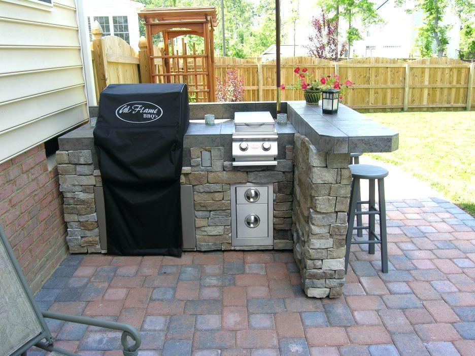 Outdoor Kitchen Frame Diy Google Search Small Outdoor Kitchens Outdoor Kitchen Plans Outdoor Kitchen Decor