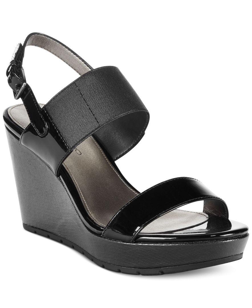 3c2eff4c9c6 Bandolino Annika Platform Wedge Sandals