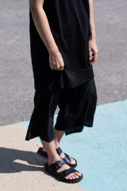 Maison Margiela Tshirt Dress & Yohji Yamamoto Silk Culottes…