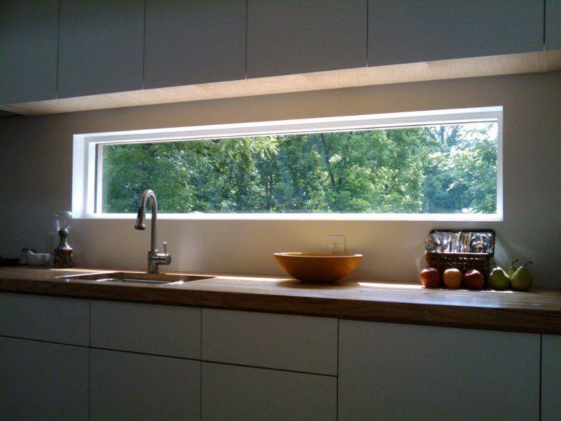 Cocinas con ventanas horizontales buscar con google - Cocinas rectangulares ...