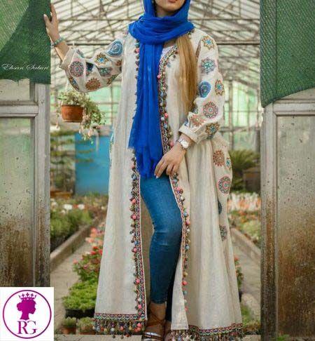 مدل جدید مانتو تابستانه مانتو نخی مانتو خنک مدل مانتو تابستانی خرید مانتو مانتو عروس مانتو In 2020 Coat Women Fashion Muslim Women Fashion Muslim Fashion Outfits
