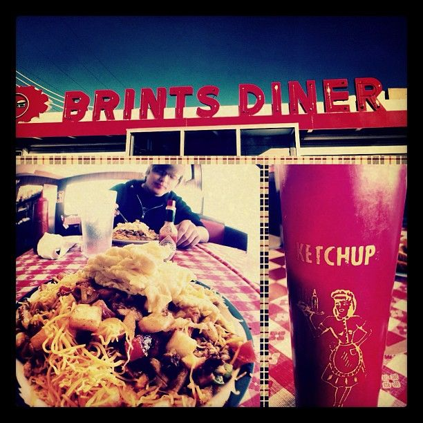 Check Out Brint S Diner Brint S Diner Wichita Ks As Seen On Diners Drive Ins And Dives And Featured On Tvfoodmaps With Images Diner Diving Driving