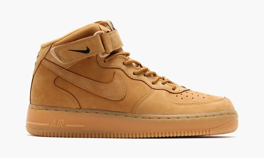 """differently 0f651 92575 Nike Air Force 1 Mid """"Wheat""""   SNEAKER FILTH   Air force 1 mid, Nike air  force, Wheat air force ones"""