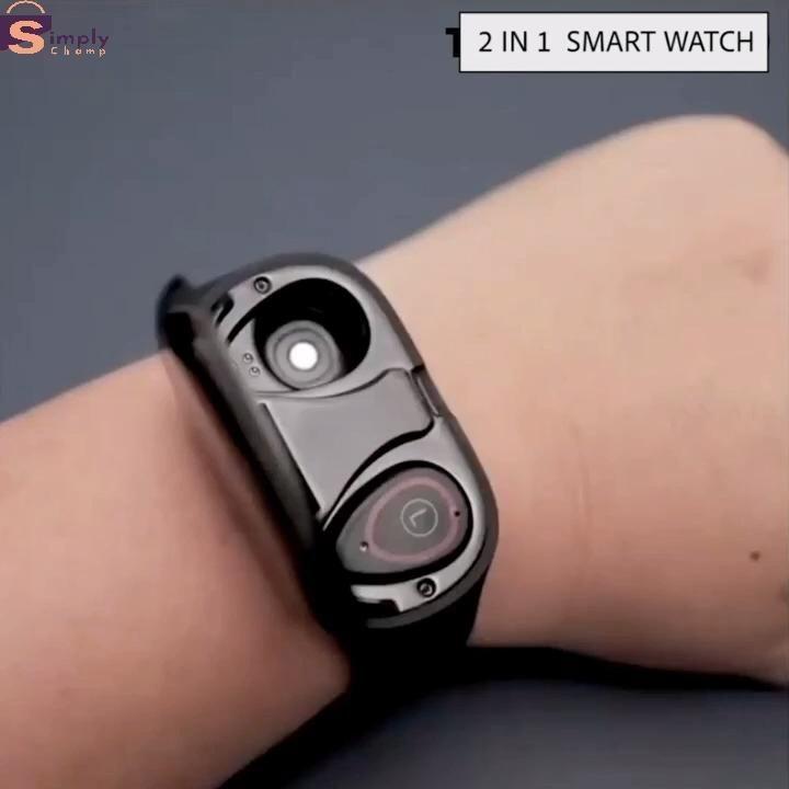 M1 AI TechFlexe Smart Watch